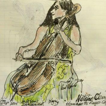 Natalie Clein sketch