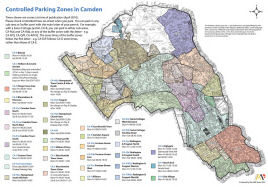 link to Camden Parking Zones